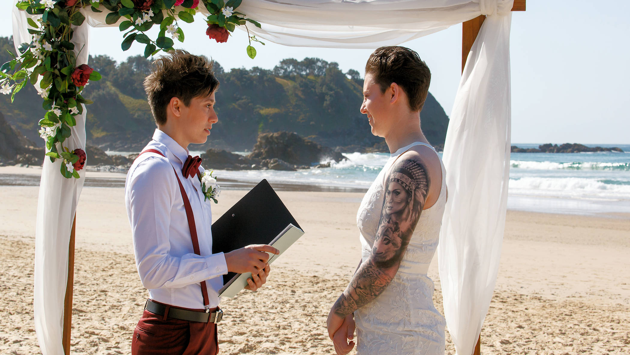 Same sex elopement packages